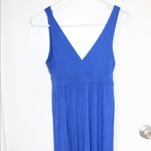 Old navy cobalt blue cotton dress